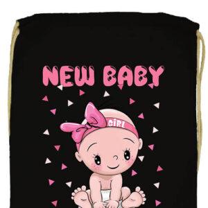 New baby girl- Prémium tornazsák
