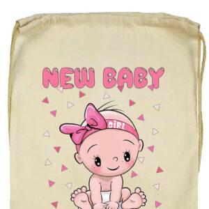 New baby girl- Basic tornazsák