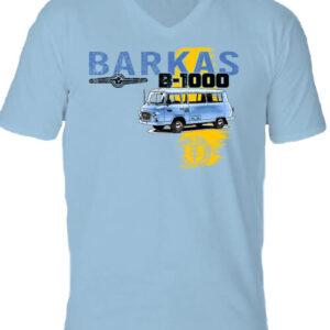 Barkas B 1000 – Férfi V nyakú póló