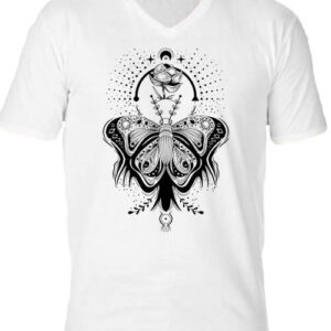 Pillangó – Férfi V nyakú póló