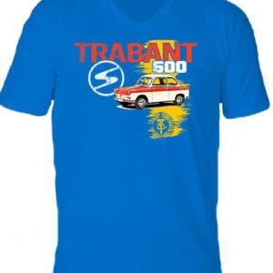 Trabant 600 – Férfi V nyakú póló