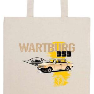 Wartburg 353 kocka- Basic hosszú fülű táska
