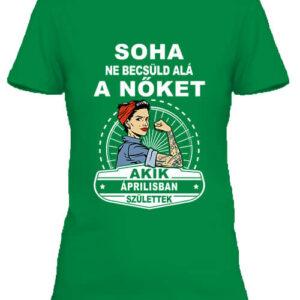 Áprilisi nők – Női póló