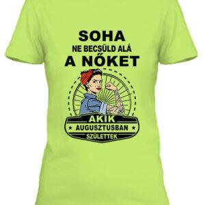 Augusztusi nők – Női póló