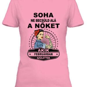 Februári nők – Női póló