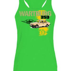 Wartburg 353 kocka – Női ujjatlan póló