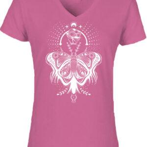 Pillangó – Női V nyakú póló