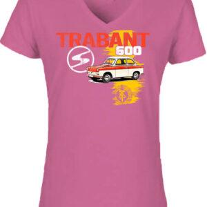 Trabant 600 – Női V nyakú póló