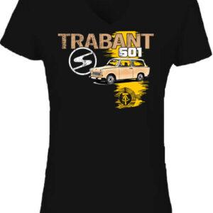 Trabant 601 kombi – Női V nyakú póló