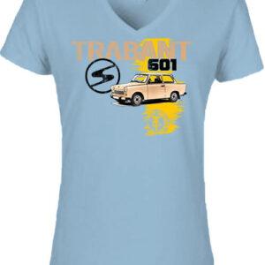Trabant 601 – Női V nyakú póló