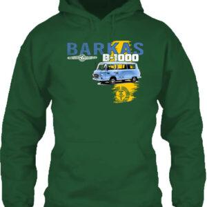 Barkas B 1000 – Unisex kapucnis pulóver