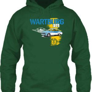 Wartburg 311 púpos – Unisex kapucnis pulóver