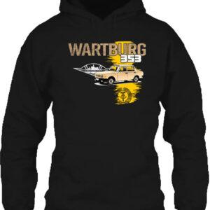 Wartburg 353 kocka – Unisex kapucnis pulóver