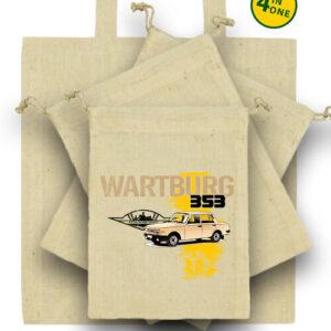 Wartburg 353 kocka – Táska szett