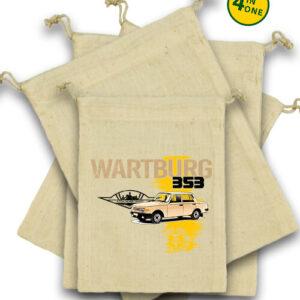 Wartburg 353 kocka – Vászonzacskó szett