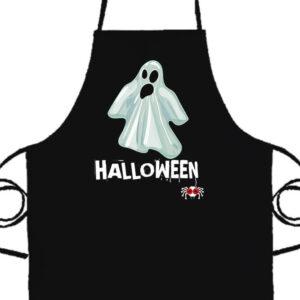 Halloween szellem- Prémium kötény