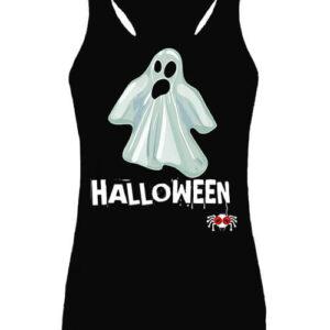 Halloween szellem – Női ujjatlan póló