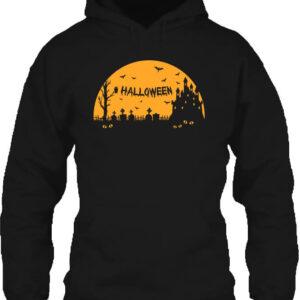 Halloween éjszakája – Unisex kapucnis pulóver