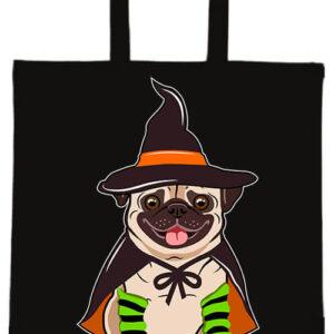 Halloween buldog- Basic rövid fülű táska