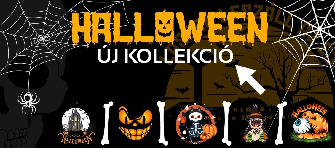 Halloween póló reklám Pólólanet